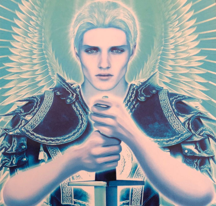 Image result for archangel michael kyle gray