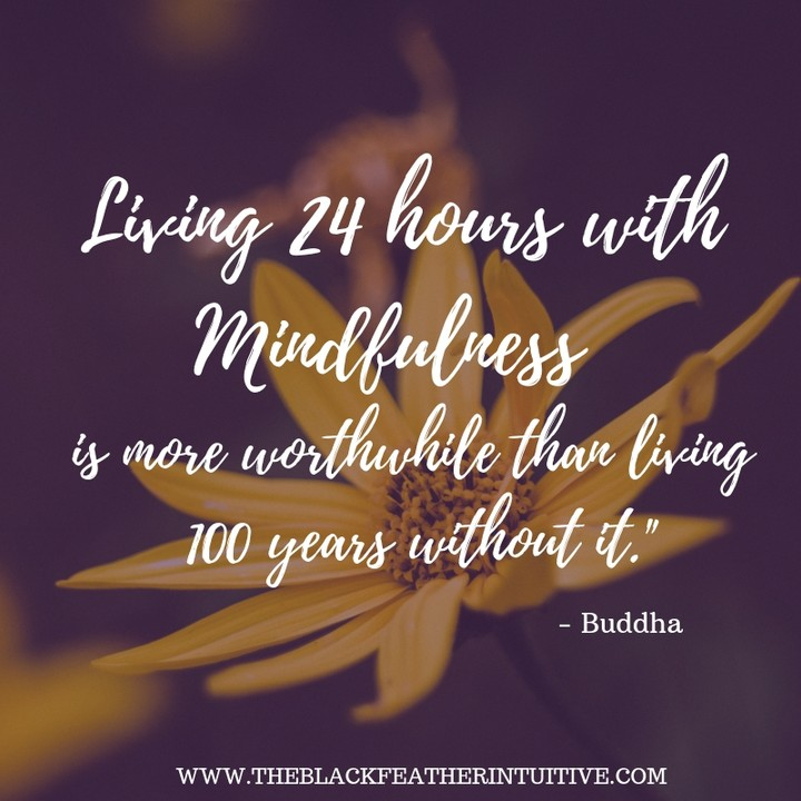 Living 24 hours with mindfulness is more worthwhile than living 100 years without it - Buddha Meditation Quotes