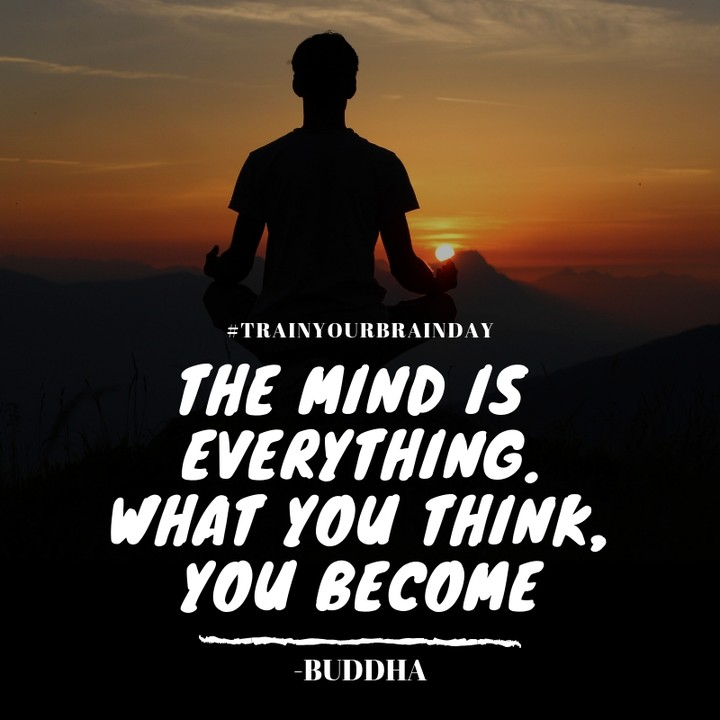 The mind is everything what you think you become - buddha quotes